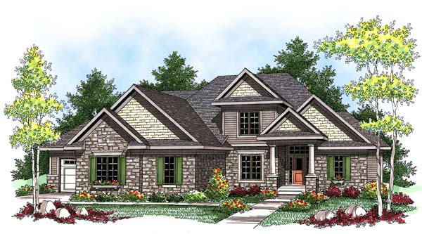Tudor House Plan 73433 Elevation