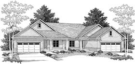 Plan Number 73476 - 3204 Square Feet