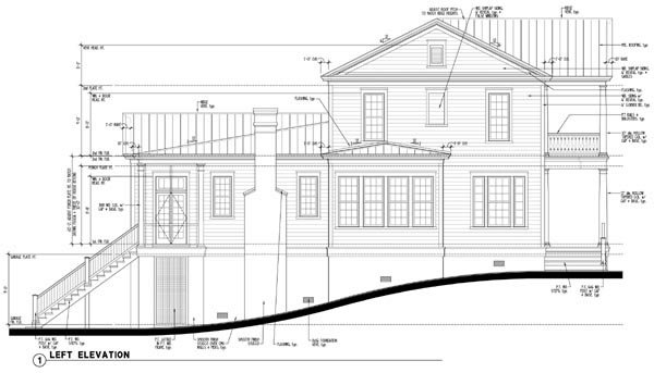 Historic, Southern House Plan 73712 with 5 Beds, 4 Baths Picture 2