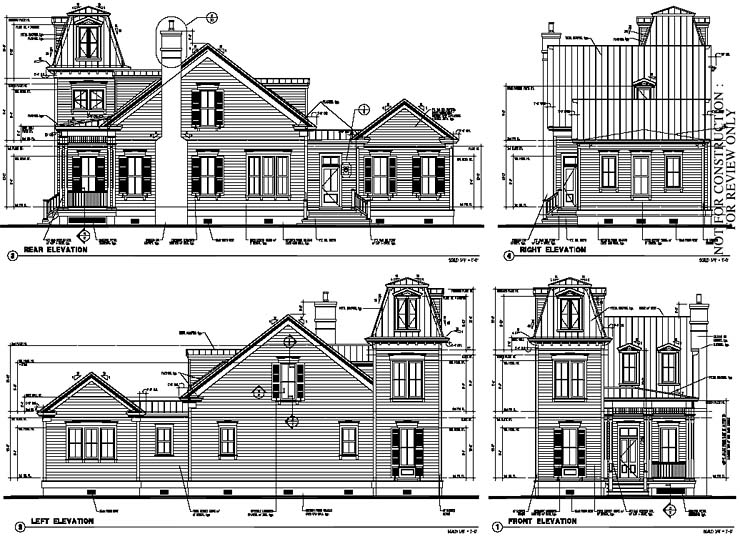 Historic Home Elevation : Historic italian victorian house plan