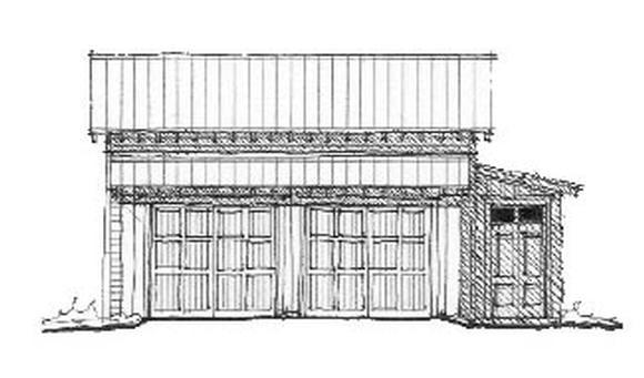 Garage Plan 73792