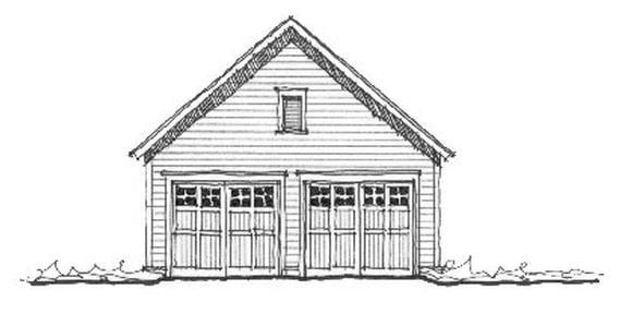 Garage Plan 73811