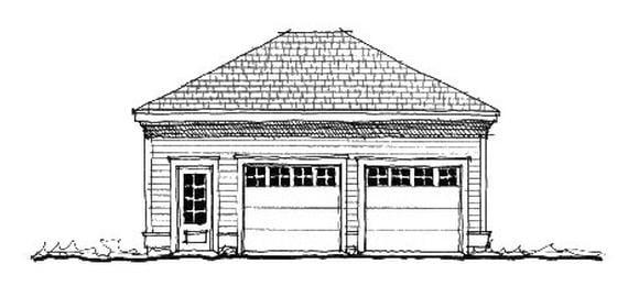 Garage Plan 73813