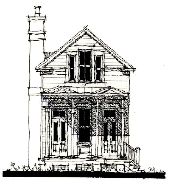 Country Historic House Plan 73875 Elevation