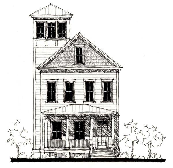 Country Historic House Plan 73880 Elevation