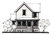 Plan Number 73908 - 1492 Square Feet