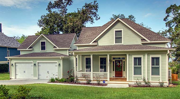 Country Southern Traditional House Plan 73944 Elevation