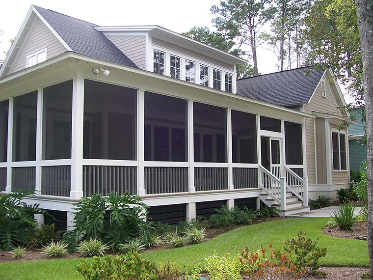 Coastal, Country, Southern House Plan 73949 with 3 Beds, 4 Baths Picture 2