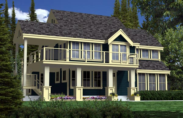 Traditional House Plan 74016