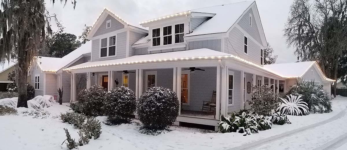 Craftsman Farmhouse House Plan 74020 Elevation