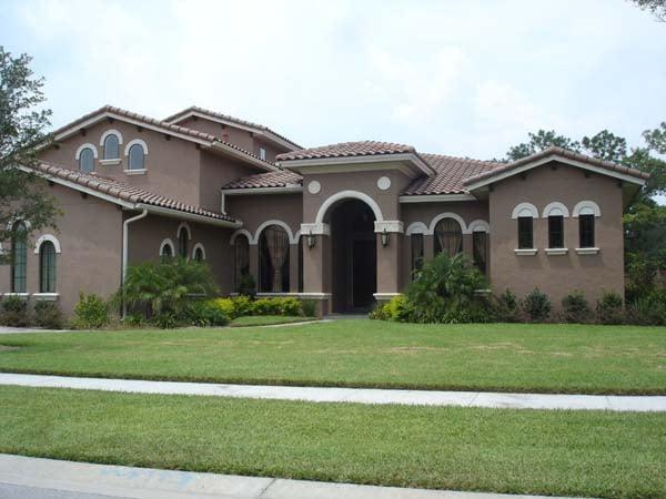 Southwest House Plan 74220 Elevation