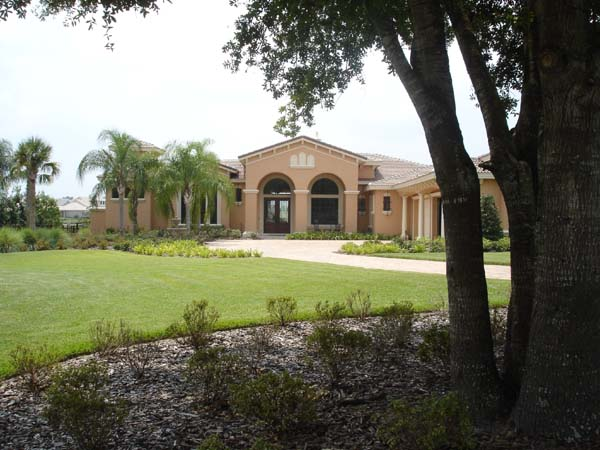 Mediterranean, Southwest House Plan 74238 with 5 Beds, 5 Baths, 4 Car Garage Picture 1