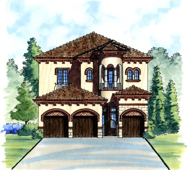 Italian home plans with pictures.