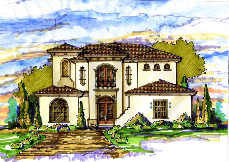 House Plan 74297 At