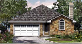 Plan Number 74503 - 1769 Square Feet
