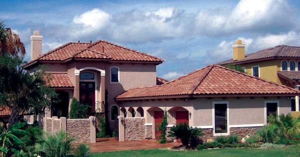 Mediterranean House Plan 74507 Elevation