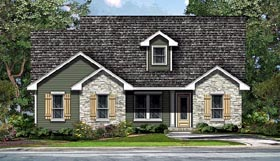 Plan Number 74508 - 1691 Square Feet