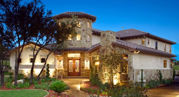 Italian, Mediterranean, Tuscan House Plan 74514 with 4 Beds, 6 Baths, 3 Car Garage Elevation
