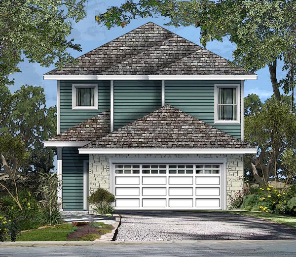Cottage Traditional House Plan 74550 Elevation