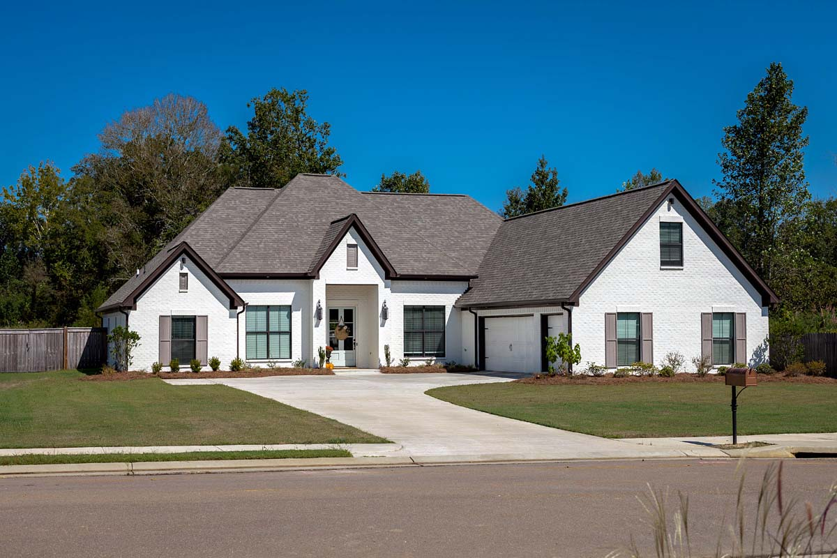 European, French Country House Plan 74640 with 4 Beds, 3 Baths, 3 Car Garage Picture 1
