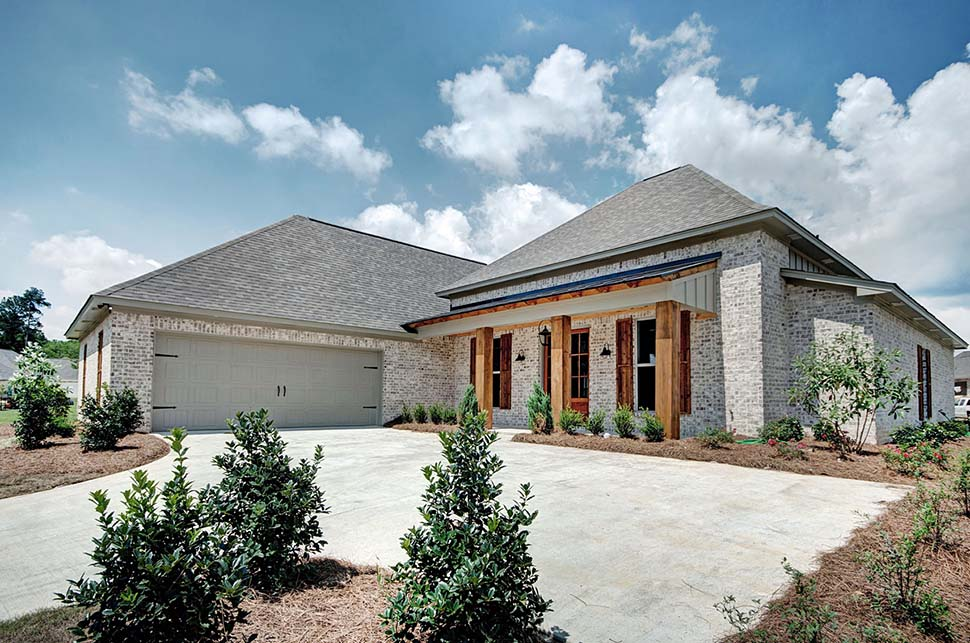 European, French Country House Plan 74648 with 4 Beds, 3 Baths, 2 Car Garage Picture 1