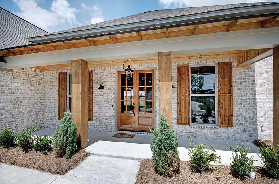 European, French Country House Plan 74648 with 4 Beds, 3 Baths, 2 Car Garage Picture 2