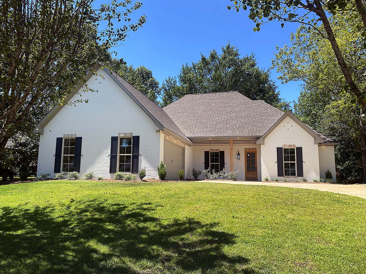 French Country, Traditional House Plan 74661 with 4 Beds, 3 Baths, 2 Car Garage Elevation