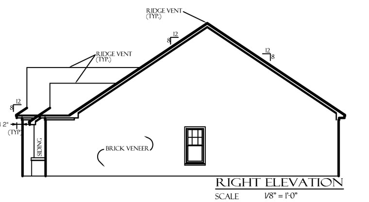 Cottage, Country, European House Plan 74701 with 3 Beds, 2 Baths, 2 Car Garage Picture 2