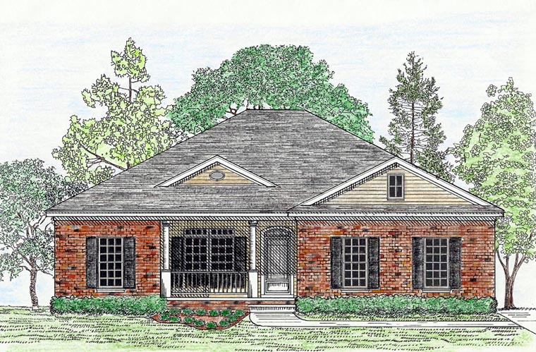 House plan 74716 at for 74716