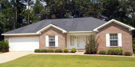 Bungalow, Country, Craftsman, Ranch, Southern, Southwest House Plan 74752 with 3 Beds, 2 Baths, 2 Car Garage Elevation
