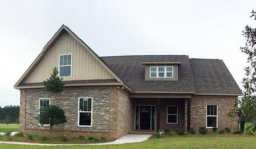 Country Craftsman Southern House Plan 74758 Elevation