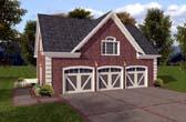 Garage Plan 74801