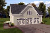 Garage Plan 74802
