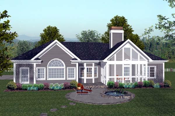 House Plan 74811 At