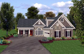 House Plan 74815