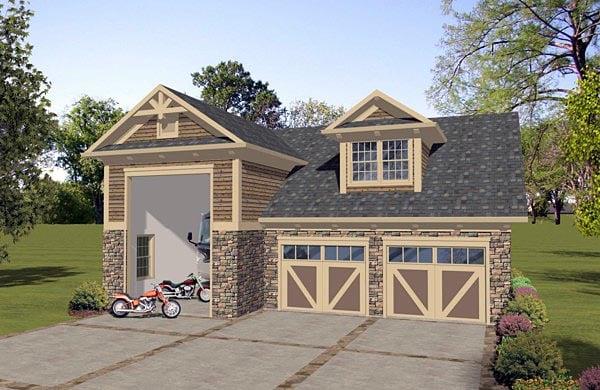 Garage Plan 74836