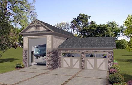 Garage Plan 74840