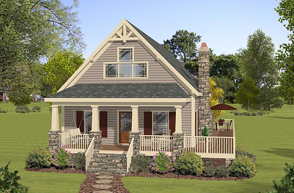 Country House Plan 74846