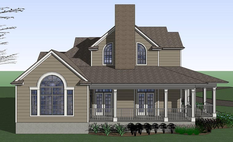 Country, Farmhouse, Victorian House Plan 75102 with 3 Beds, 3 Baths Picture 1