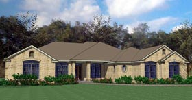 Colonial , Traditional House Plan 75118 with 4 Beds, 4 Baths, 2 Car Garage Elevation