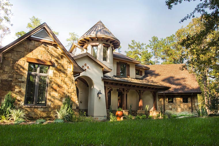 Cottage Craftsman European French Country House Plan 75135 Elevation