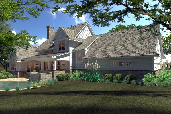 Country, Farmhouse, Southern House Plan 75138 with 3 Beds, 3 Baths, 2 Car Garage Picture 6