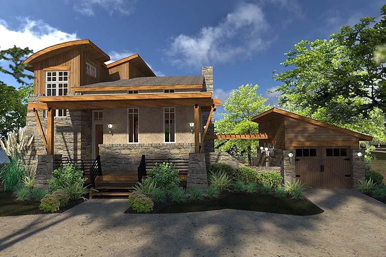 House Plan 75140 at FamilyHomePlans.com