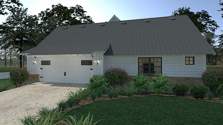 Cottage, Country, Farmhouse, Southern House Plan 75150 with 3 Beds, 3 Baths, 2 Car Garage Picture 3