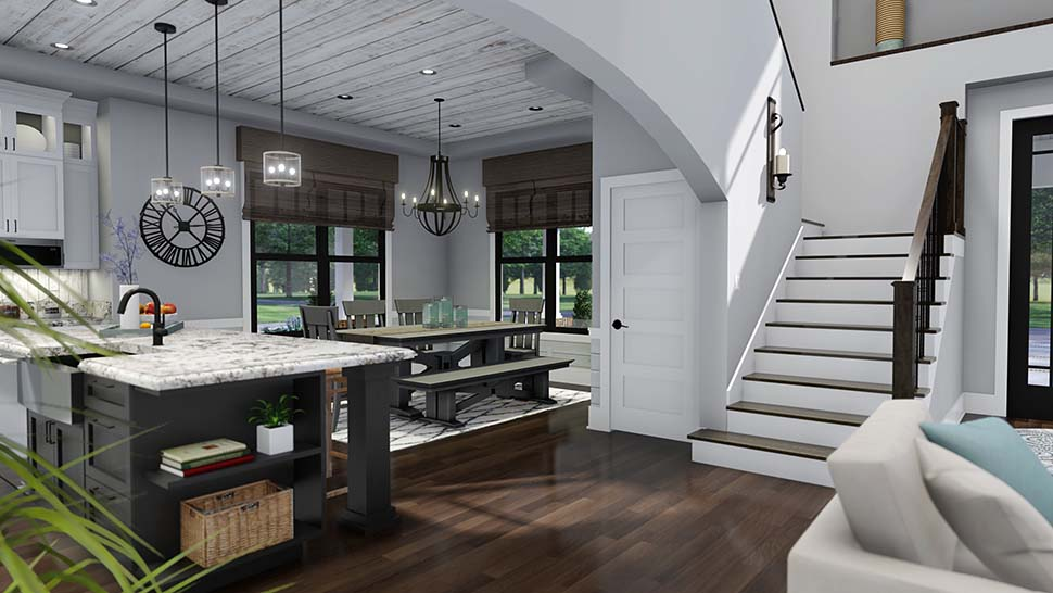 Country, Farmhouse, Southern House Plan 75158 with 3 Beds, 3 Baths, 2 Car Garage Picture 16
