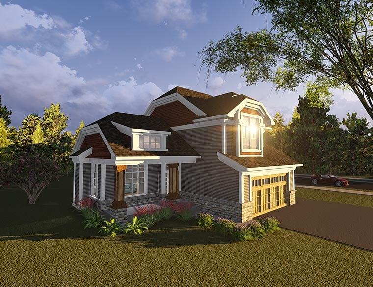 Bungalow Cottage Craftsman House Plan 75230 Elevation