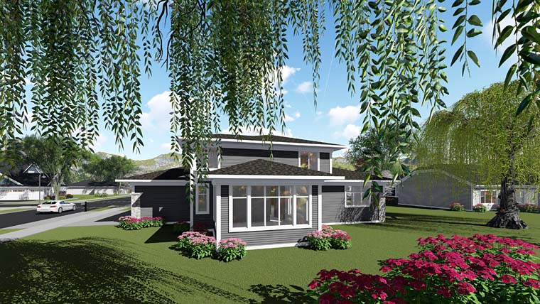Country Southwest House Plan 75271 Rear Elevation