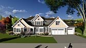Plan Number 75406 - 2964 Square Feet
