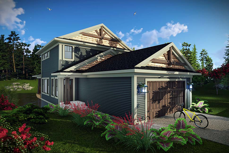 Traditional House Plan 75453 with 3 Beds, 4 Baths, 2 Car Garage Elevation