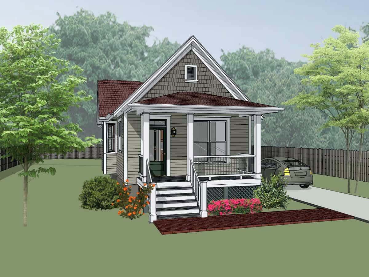 House Plan 75515